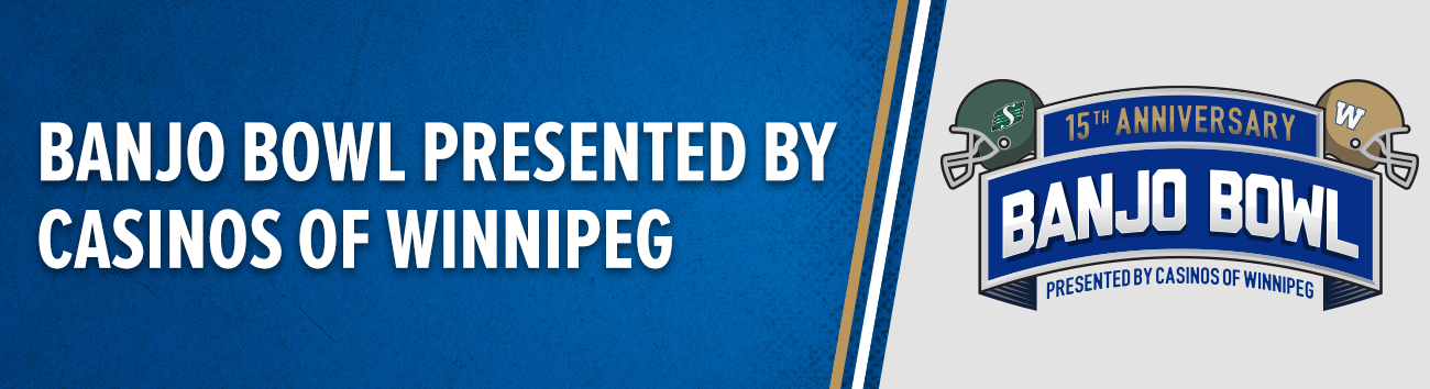 History of the Banjo Bowl - Winnipeg Blue Bombers