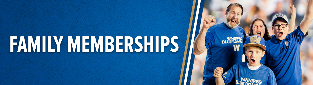 Winnipeg Blue Bombers - Family Memberships