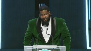 Shaw CFL Awards   Stanley Bryant named Most Outstanding Offensive Lineman