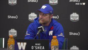 Coach O'Shea | November 10