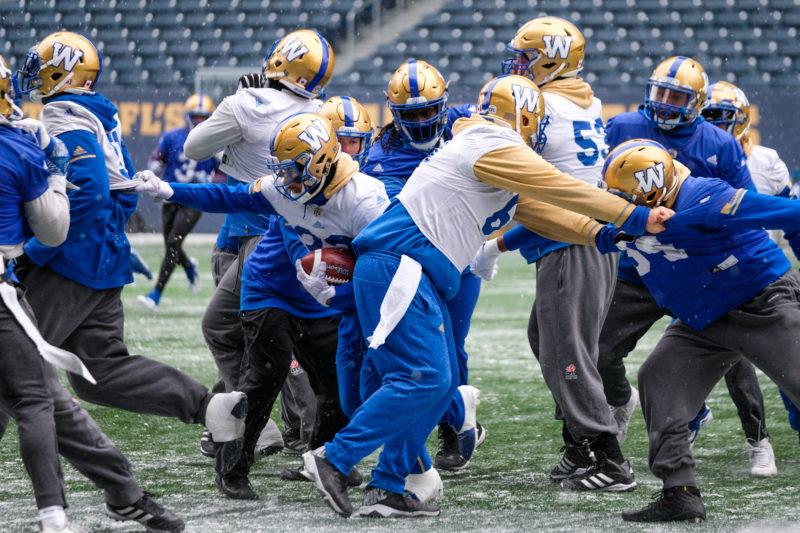 Daniel Crump / Winnipeg Blue Bombers. Winnipeg Blue Bombers PracticeNovember 7, 2018.