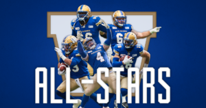 Blue Bombers 2018 CFL All-Stars