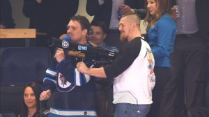 Adam Bighill | Winnipeg Jets visit