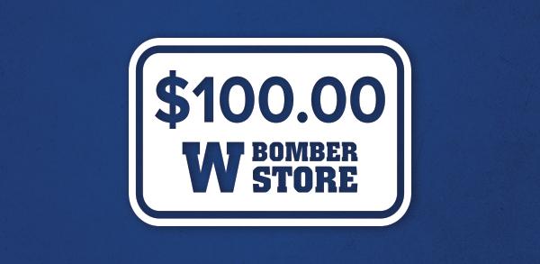 Bomber Store Merchandise Certificate