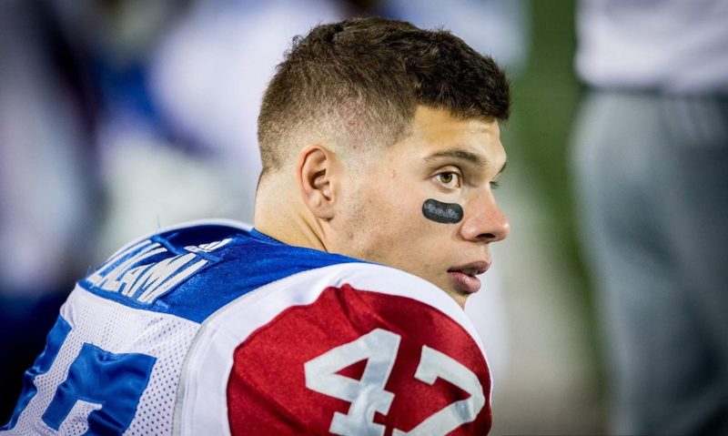 Bombers add Winnipeg-born linebacker DJ Lalama