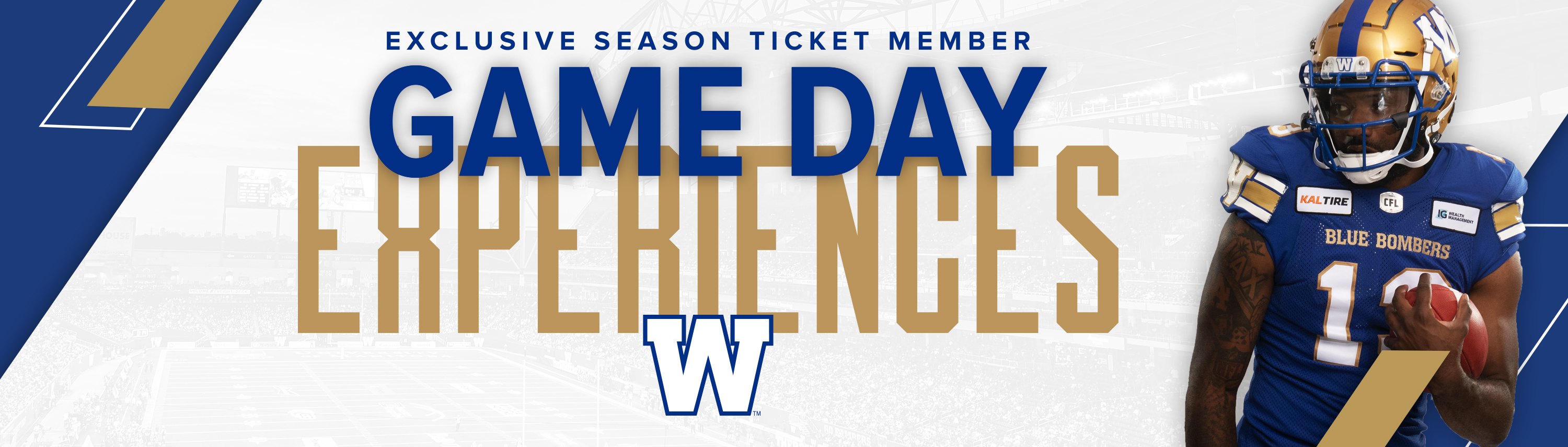 Winnipeg Blue Bombers Game Day Experiences