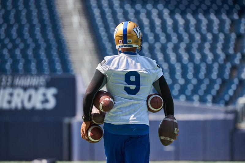 Winnipeg Blue Bombers #9 Justin Medlock
