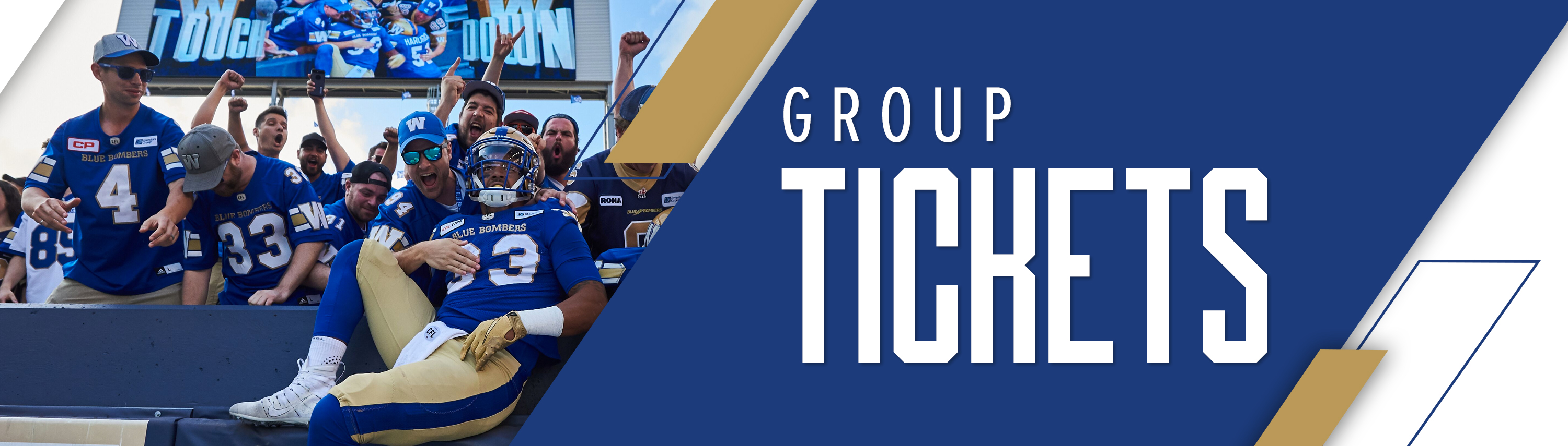 2019 Winnipeg Blue Bombers Group Tickets