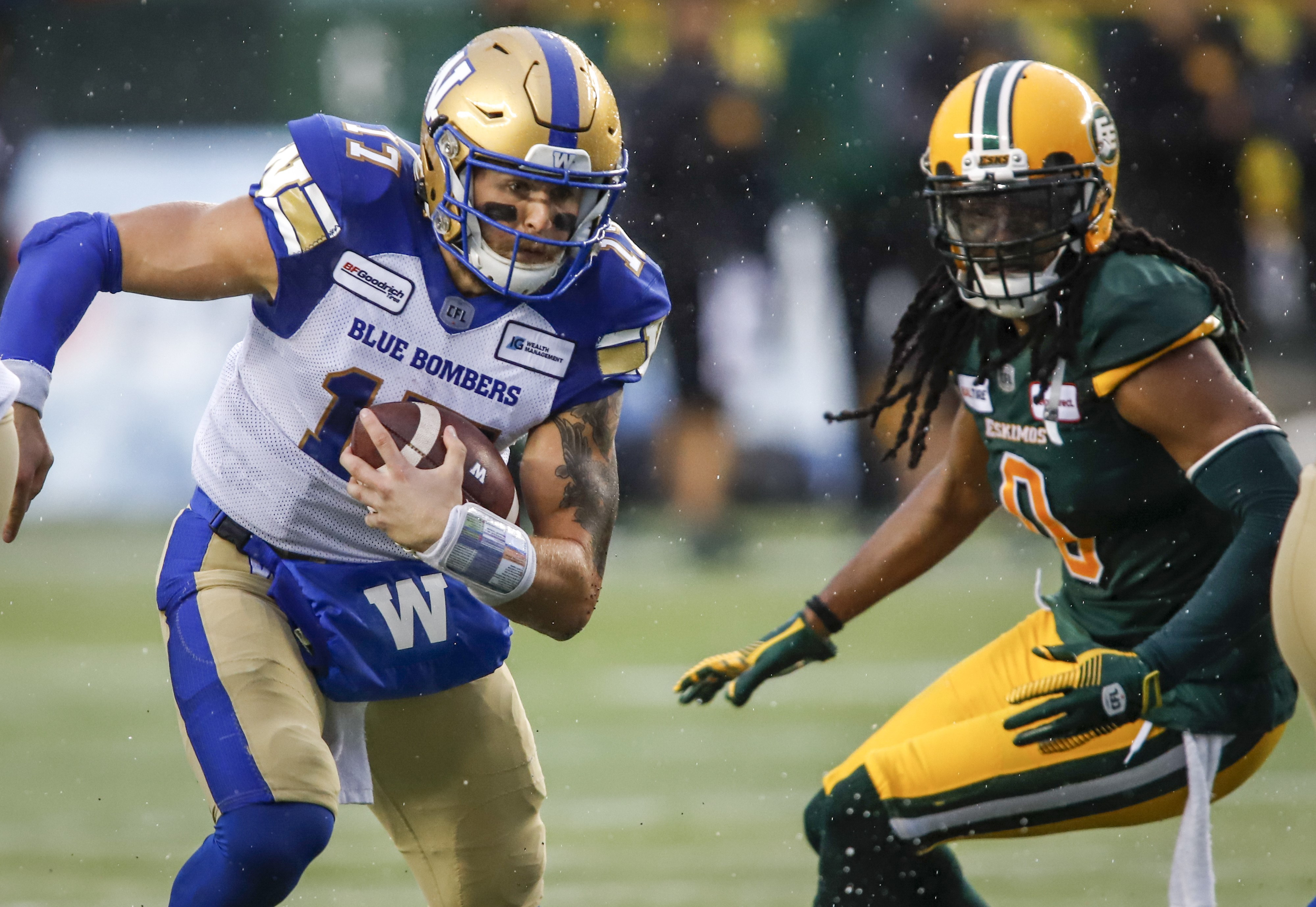 Upon Further Review   WPG 34 EDM 28 - Winnipeg Blue Bombers