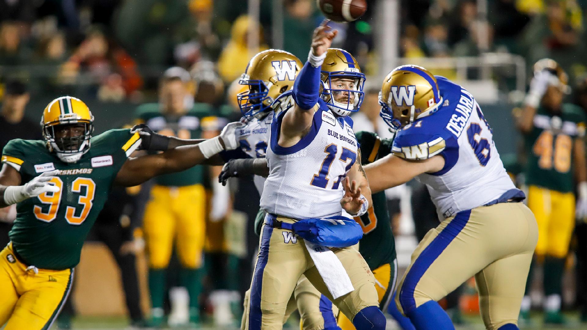 Week 11 Highlights | Winnipeg 34, Edmonton 28 - Winnipeg Blue Bombers