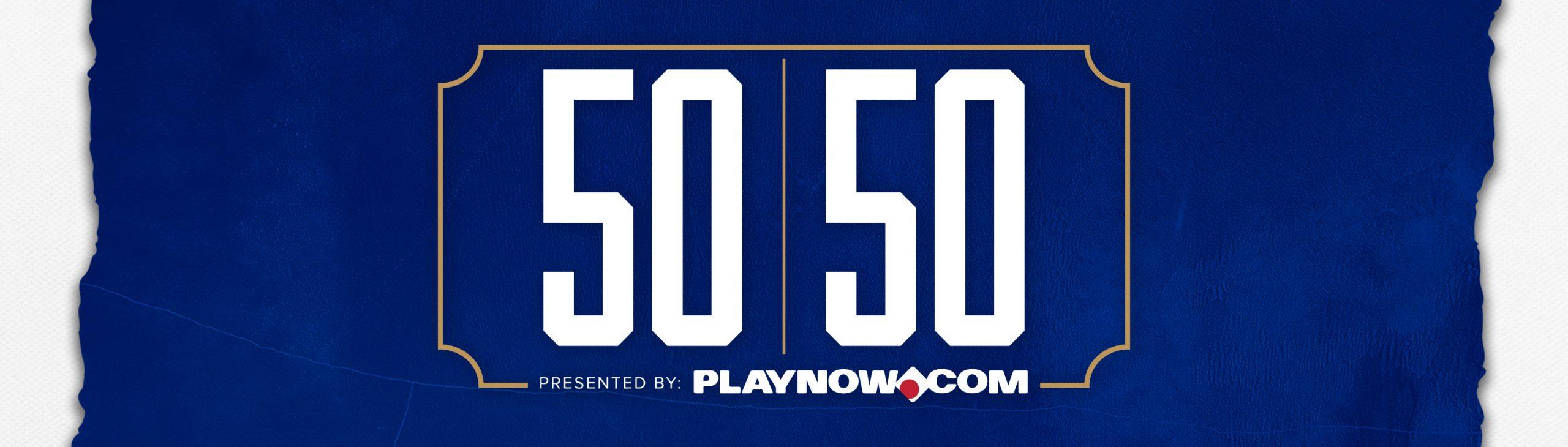 Winnipeg Blue Bombers 50/50