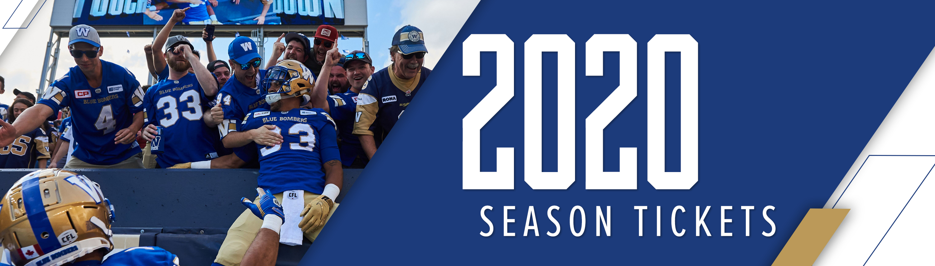 2020 Winnipeg Blue Bombers Season Tickets