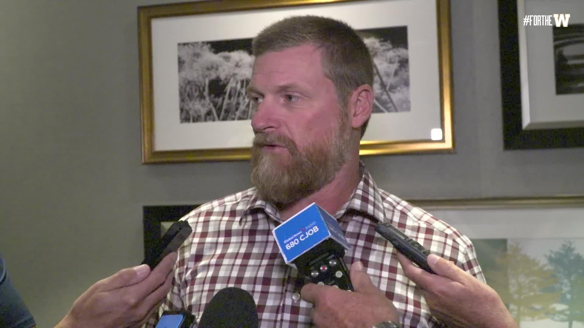 Coach O'Shea | September 20 - Winnipeg Blue Bombers