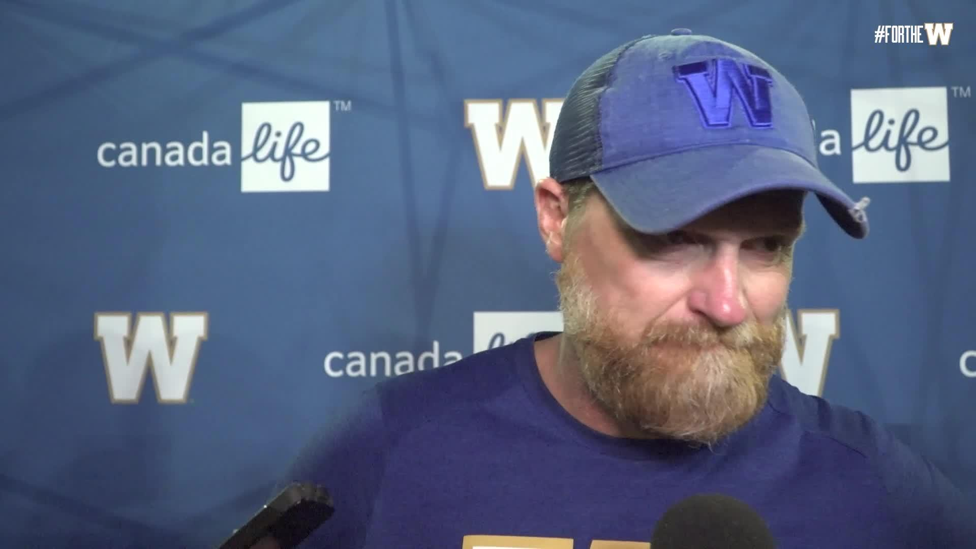 Coach O'Shea | Post-game - Winnipeg Blue Bombers