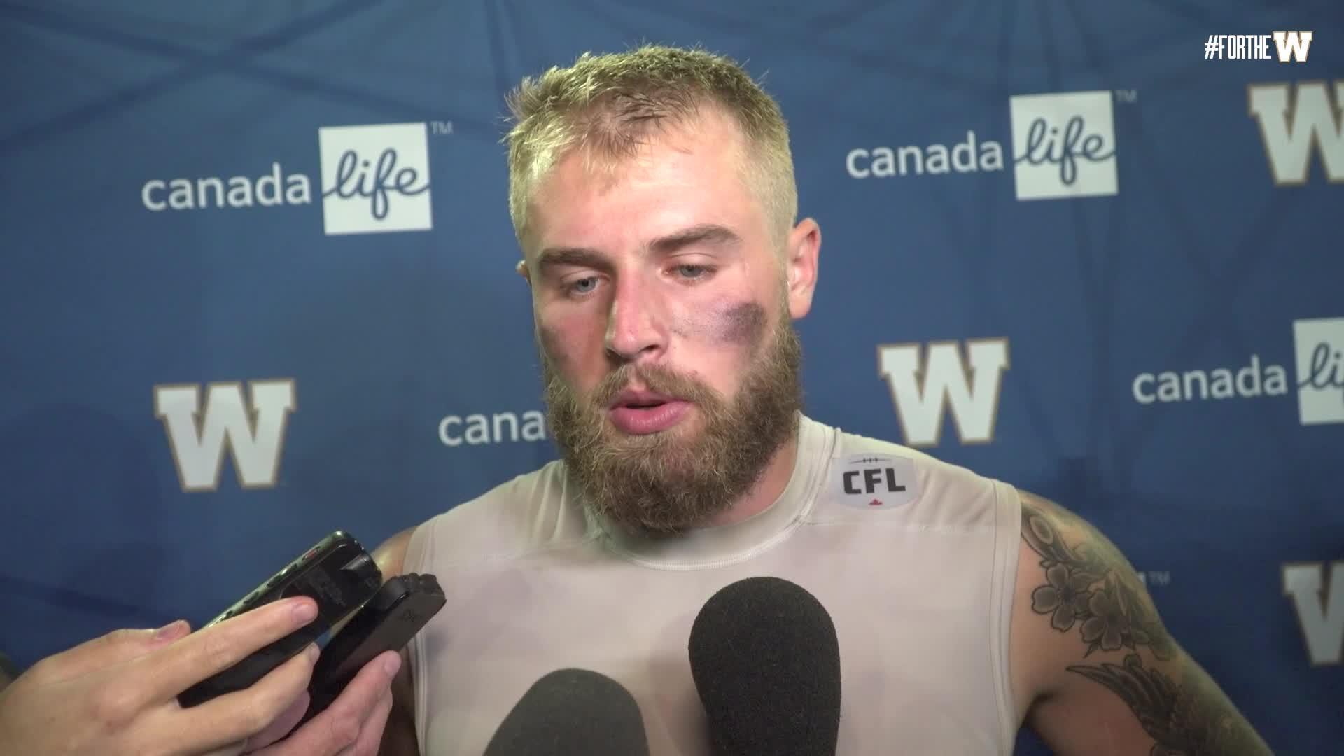 Chris Streveler | Post-game - Winnipeg Blue Bombers