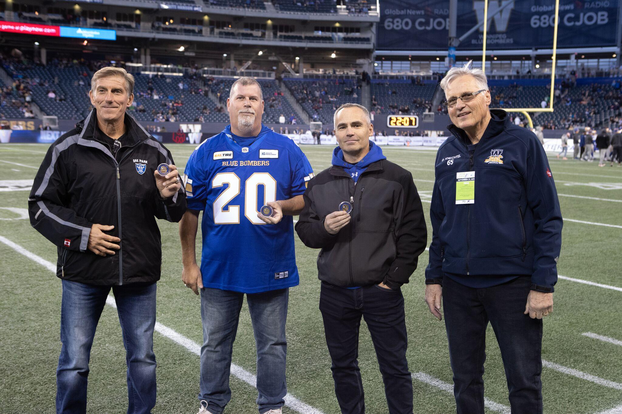 Sept 27, 2019 Community Hero = Dave Knechtel, Stu Nixon, Nathan Yamron, Brett Watt