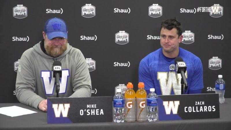 Coach O'Shea & Zach Collaros | Post-Game