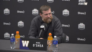 Coach O'Shea | November 16