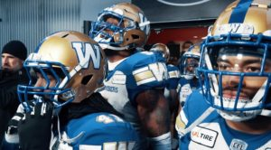 GC107 In the Tunnel | Blue Bombers get pumped up pre-game