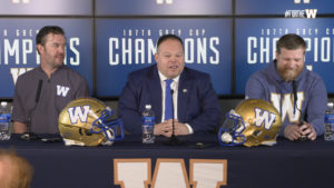 Coach O'Shea & GM Kyle Walters | Contract Extensions Press Conference