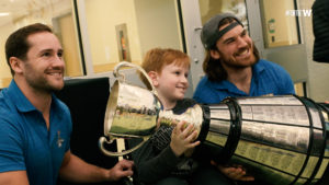 Children's Rehabilitation Foundation | Grey Cup Visit