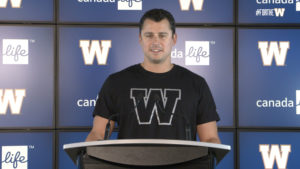 Zach Collaros   Contract Extension Press Conference