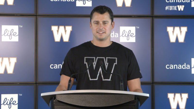 Zach Collaros | Contract Extension Press Conference