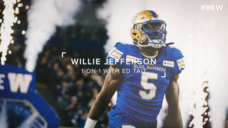 Willie Jefferson sits down with Ed Tait