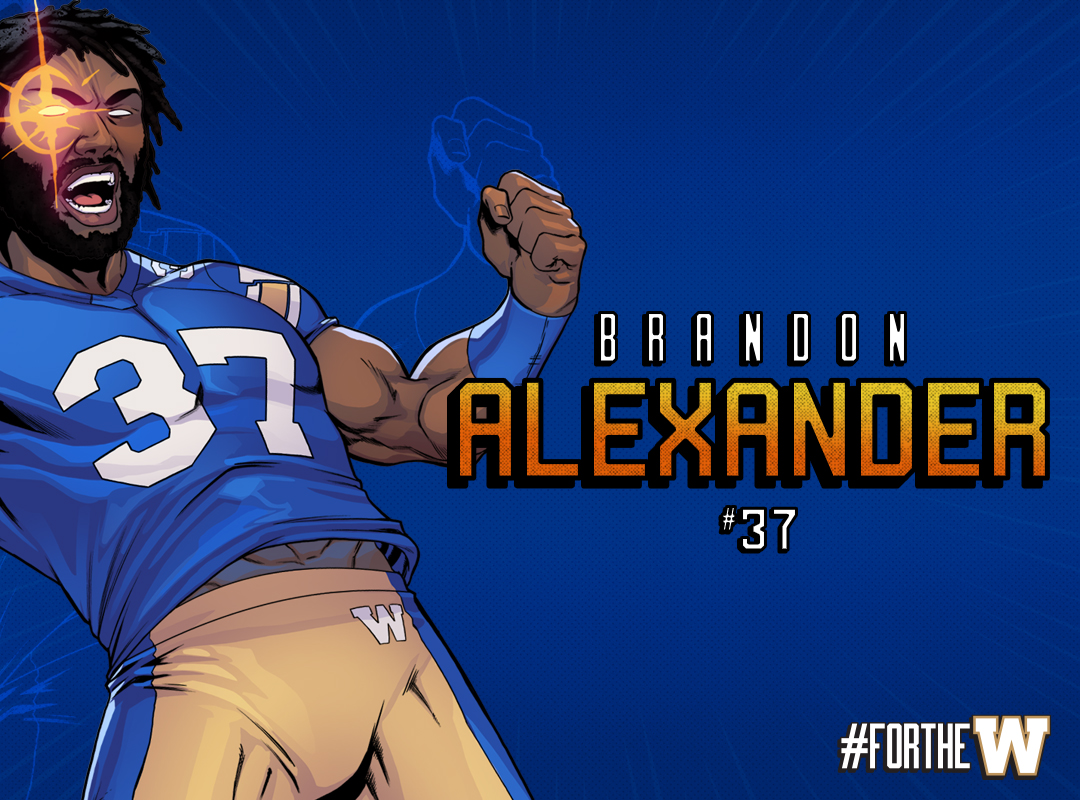 Alexander Blue Background