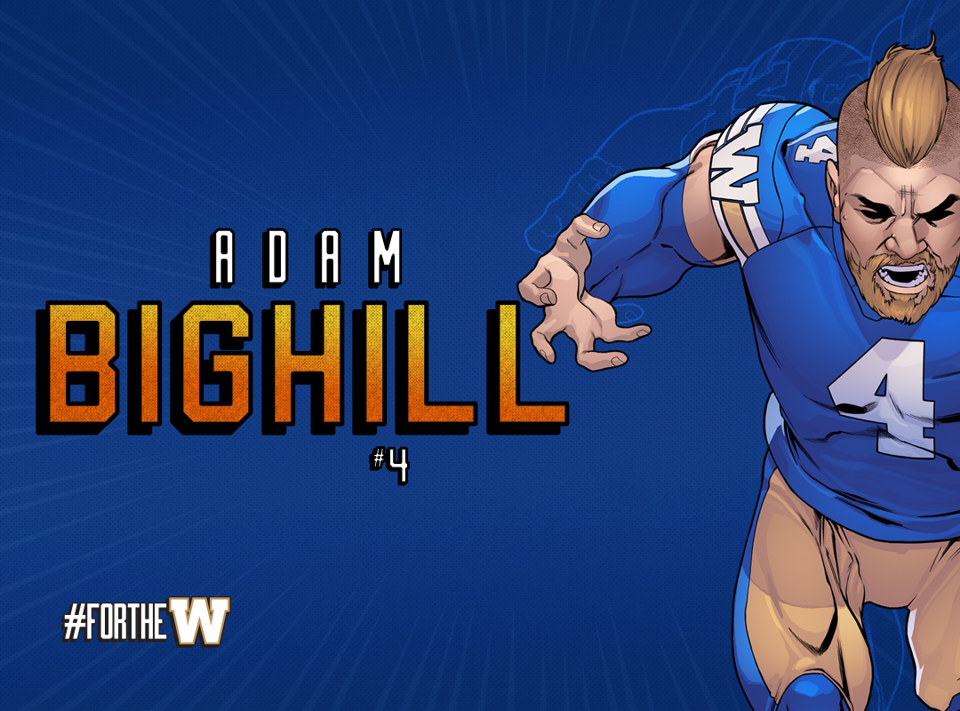 Bighill Blue Background
