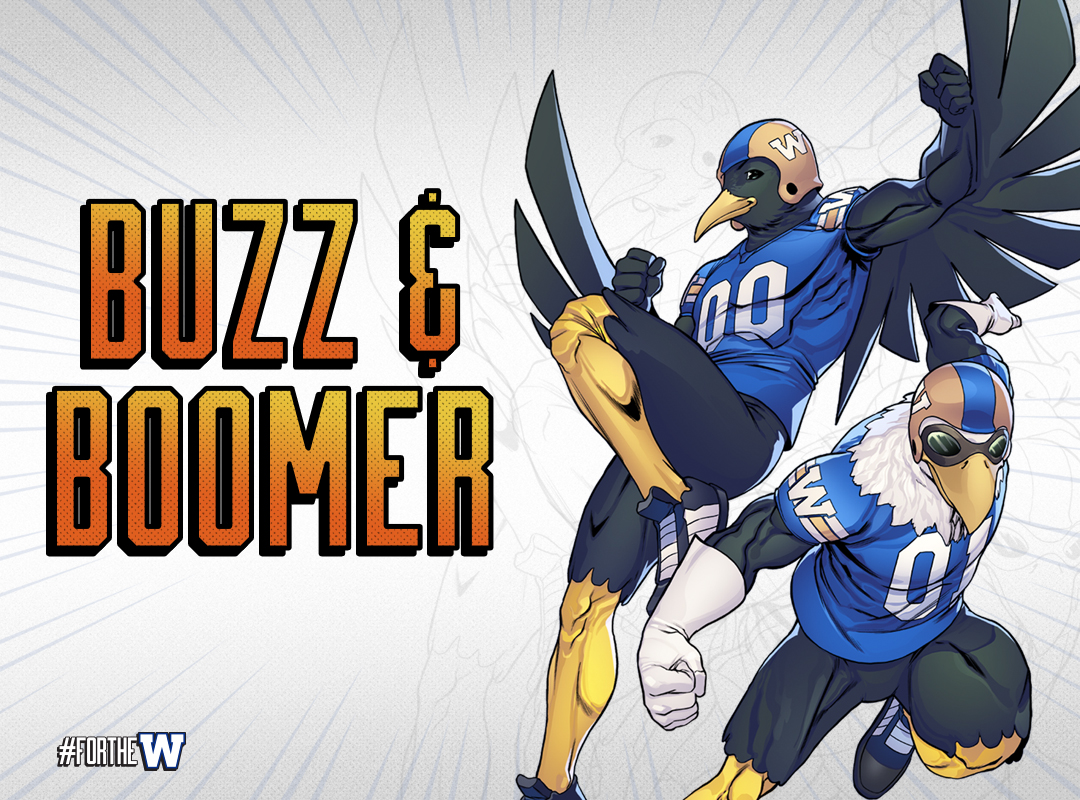 Buzz and Boomer White Background