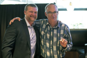 Bob Irving receives Grey Cup Ring