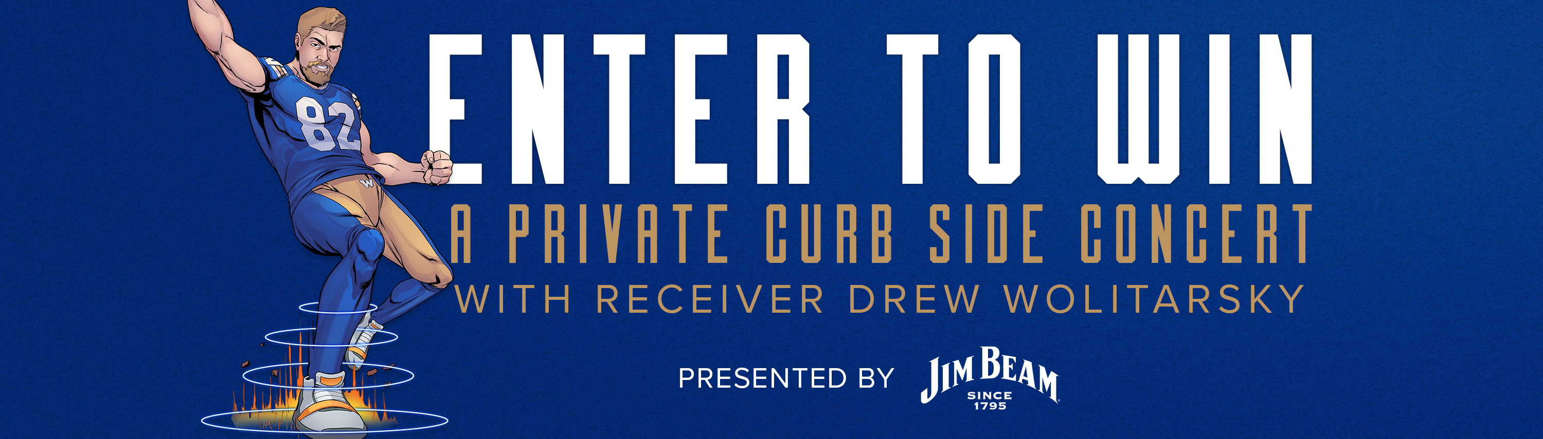 Private Curb Side Concert with Drew Wolitarsky presented by Jim Beam