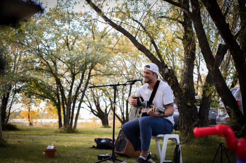 Drew Wolitarsky | Curbside Concert in Richer, Manitoba