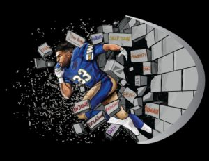 'What If' | Andrew Harris partners with Zueike & Blue Bombers