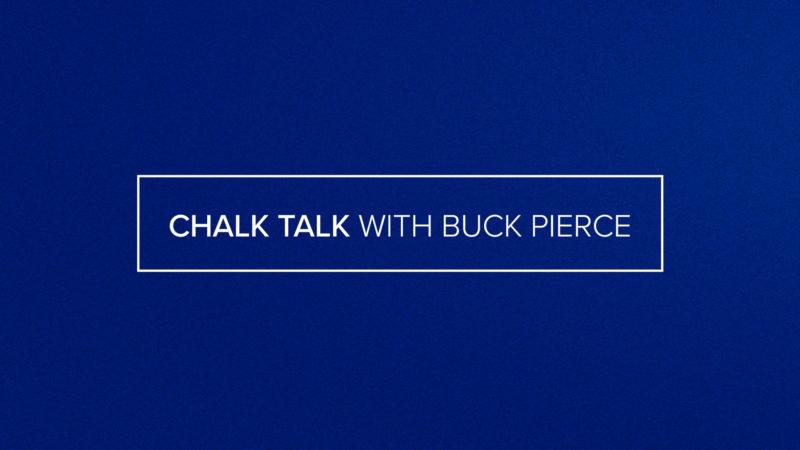 Chalk Talk with Buck Pierce