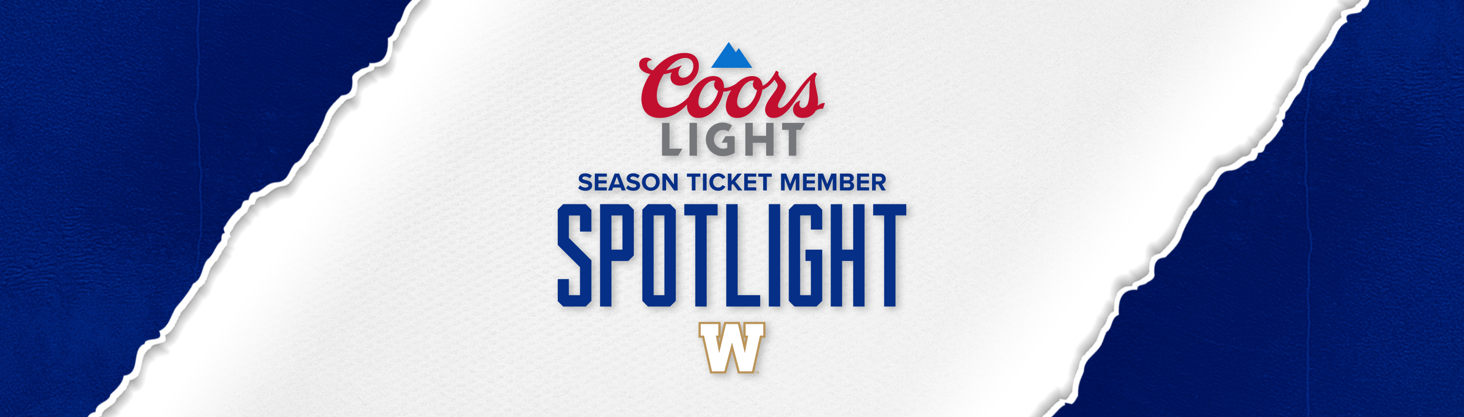 Coors Light Season Ticket Member Spotlight