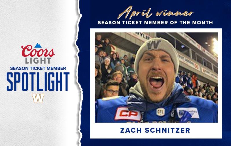 March Winner - Coors Light Season Ticket Member Spotlight