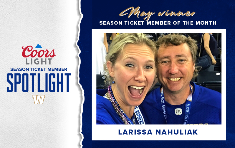 May Winner - Coors Light Season Ticket Member Spotlight