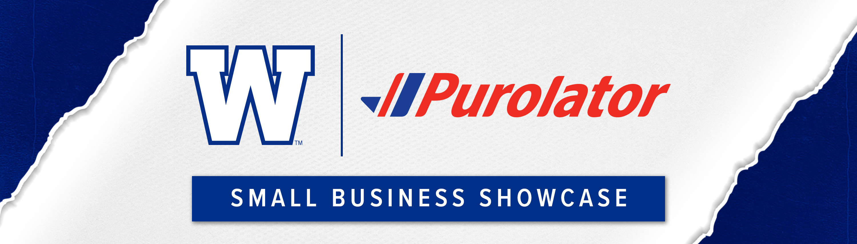 Winnipeg Blue Bombers & Purolator's Small Business Showcase