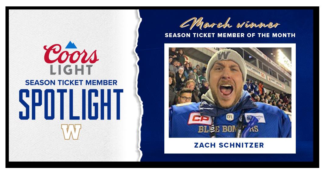 Coors Light Season Ticket Member Spotlight - March Winner