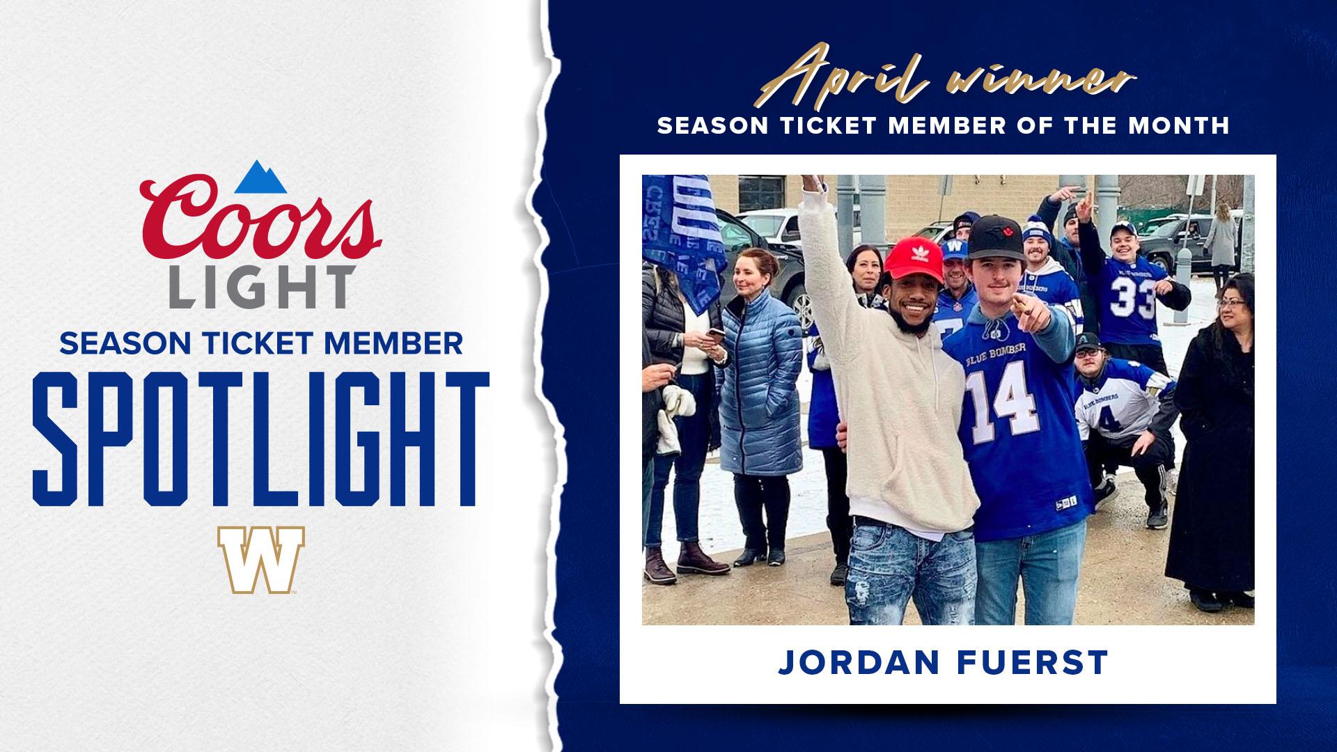 Coors Light Season Ticket Member Spotlight - April Winner