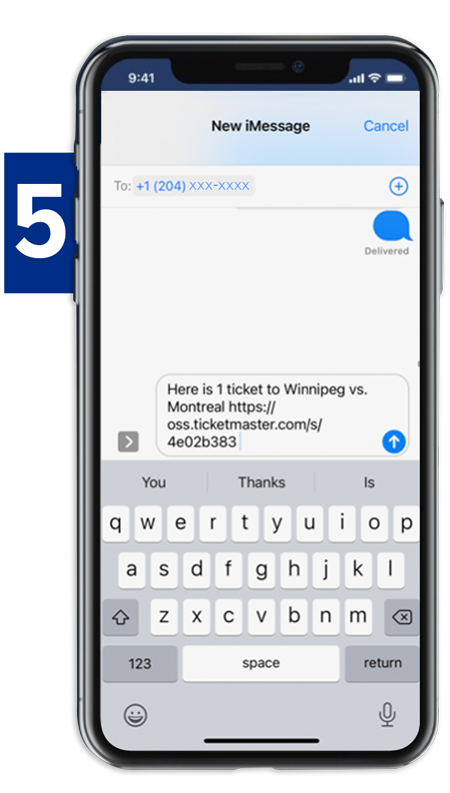 Transfer Tickets - Step 5
