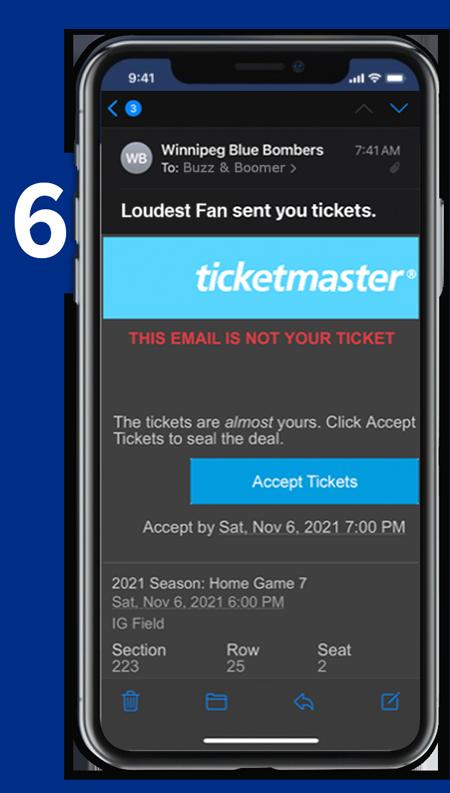 Transfer Tickets - Step 6