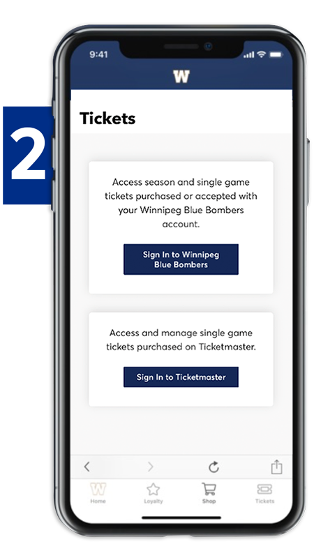 Viewing Tickets - Step 2