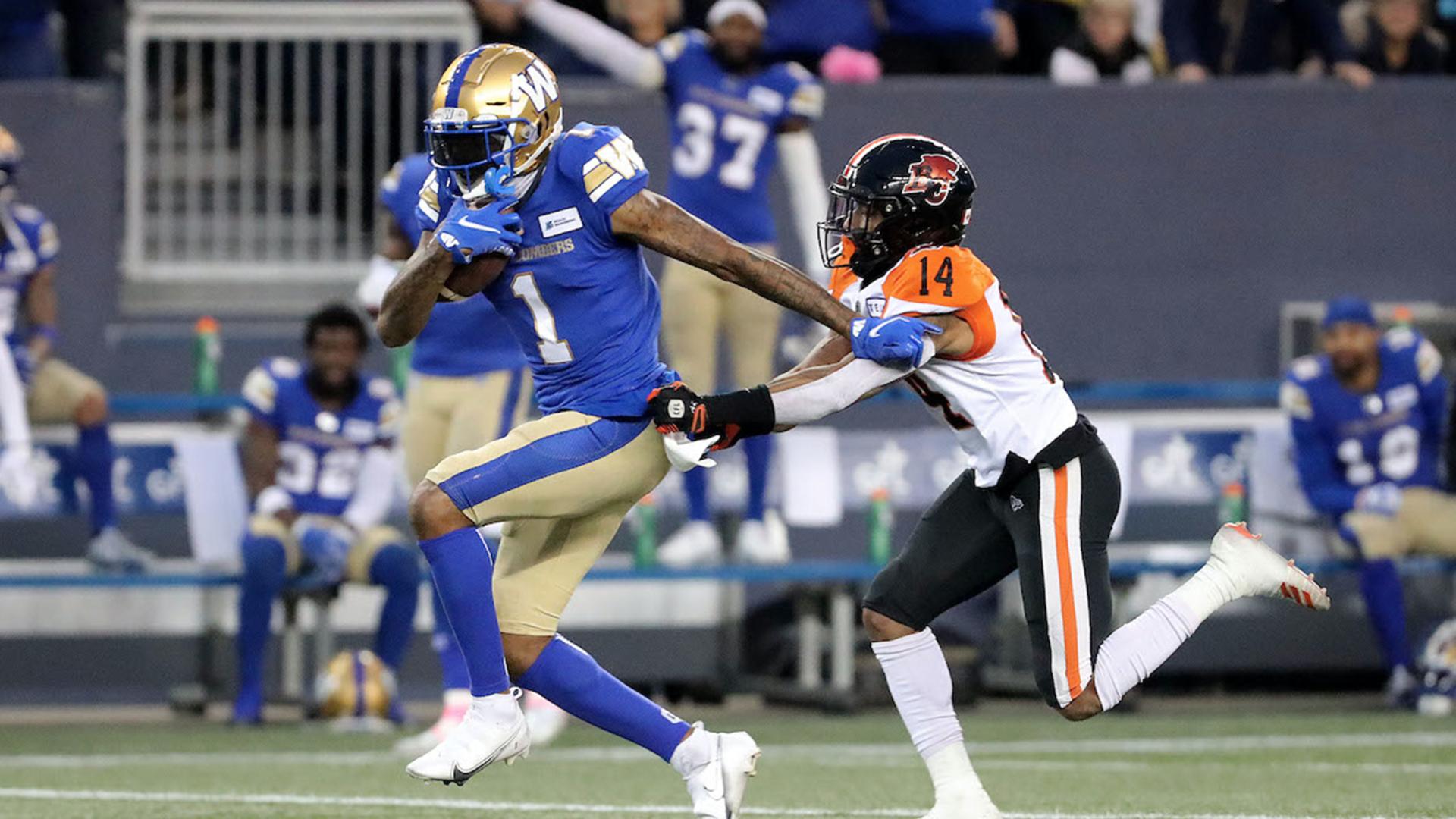 Week 12 Highlights | Winnipeg 45, BC 0