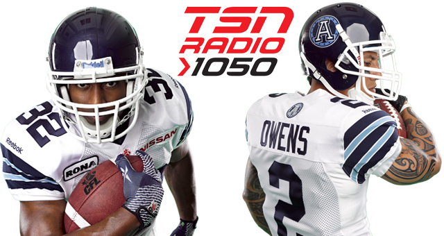 DURIE & OWENS LIVE ON TSN RADIO 1050 - Toronto Argonauts