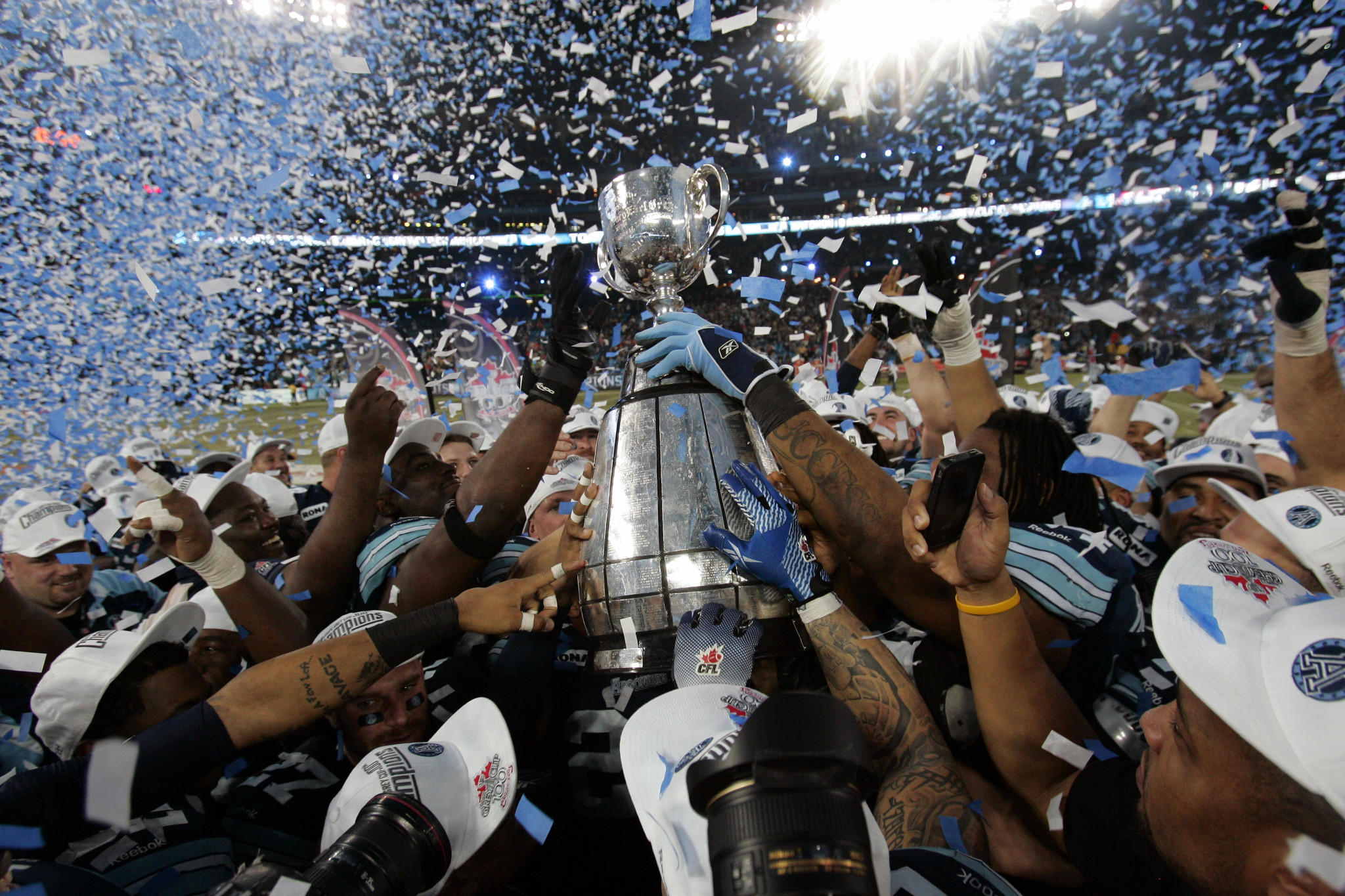 Image result for images of toronto argonauts winning grey cup