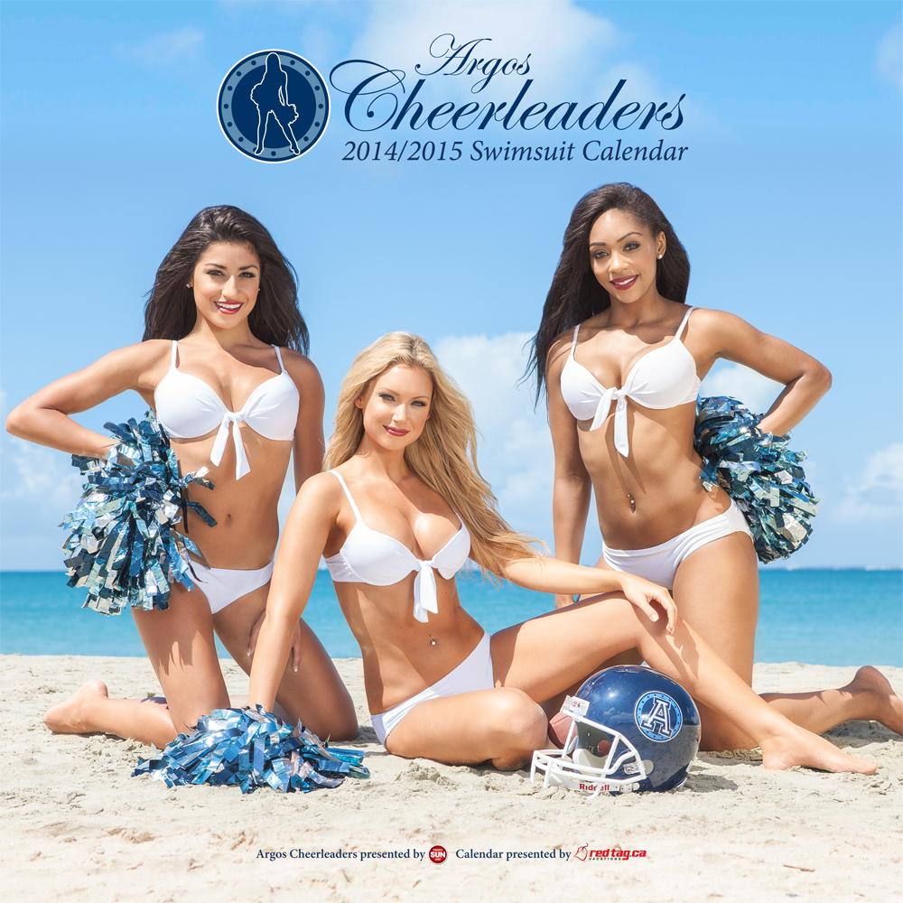2014 Argos Cheerleader Swimsuit Calendar Available For