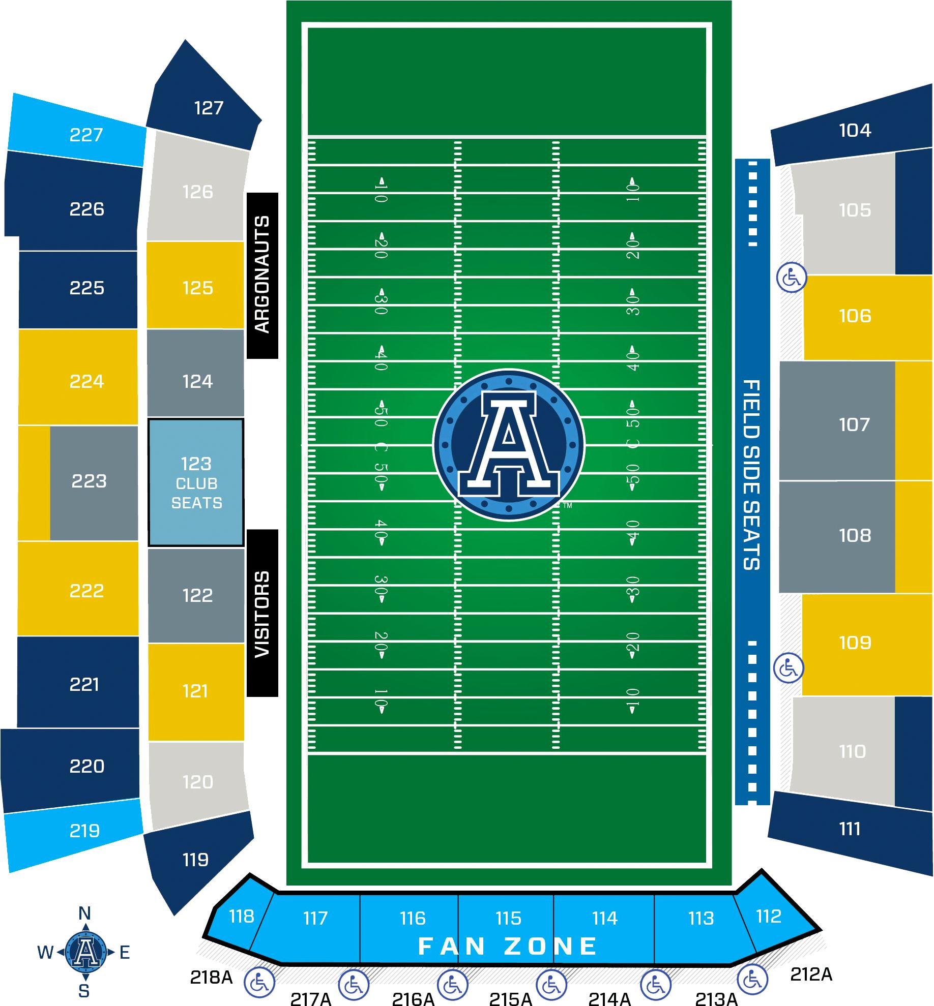 2018 New Season Tickets Toronto Argonauts
